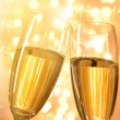 Pair of champagne flutes — Stock Photo #36496521