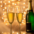 Pair of champagne flutes — Stock Photo #36497375