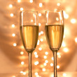 Pair of champagne flutes — Stock Photo #36497401