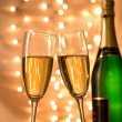 Pair of champagne flutes — Stock Photo #36497427