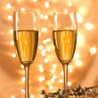 Pair of champagne flutes — Stock Photo #36497475