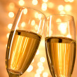Pair of champagne flutes — Stock Photo #36497489