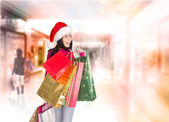 Christmas shopping. — Stock Photo