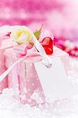 Valentin dag achtergrond — Stockfoto