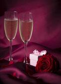 Valentin day background — Stock Photo