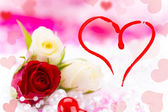 Valentin day background — Photo