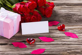 Valentin day background — Stock Photo