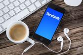 Facebook concept — Stock Photo