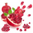 Ripe pomegranate — Stock Photo