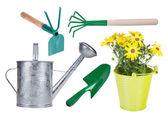 Garden tools collection. — Stock Photo