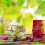 Fresh juice mix fruit. — Stock Photo #48436781