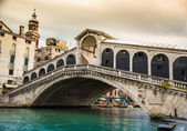 Glorious bridge of Rialto, Venice. — Stock Photo