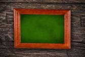 Trä blackboard — Stockfoto