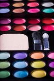 Multicolored eye shadows. — Stock Photo