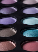Veelkleurige eye shadows. — Stockfoto