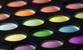 Multicolored eye shadows. — Stock Photo