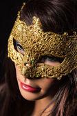 Colorful Venetian carnival mask — Stock Photo
