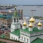 ������, ������: Nizhny Novgorod view with John the Baptist church