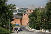 Nizhny Novgorod kremlin, Russia — Stock Photo