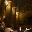 Opera concert in Moscow State Historical Museum — Stock Photo
