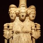 Постер, плакат: Hecate goddess antique sculpture