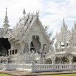 Amazing White Temple Wat Rong Khun in Thailand — Stock Photo #18024205