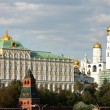 Stock Photo: Big Kremlin Palace and IvGraet Bell Tower