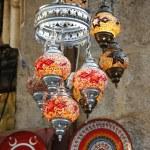 Oriental Turkish lamps — Stock Photo