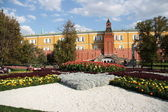 Alexander Garden and Moscow Kremlin — Stock Photo