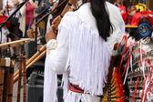 Native South American musician — Stock Photo