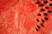 Ripe Watermelon with seeds — Stock Photo
