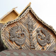 Stock Photo: Traditional wooden Russiarchitecture