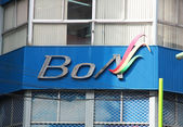 Bolivian Airlines head office in La Paz — Stock Photo