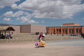 Museums of Tiwanaku archaeological site, Bolivia — Foto Stock