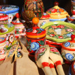 Stock Photo: Traditional Russisouvenirs