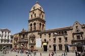 San Francisco Cathedral in La Paz, Bolivia — ストック写真