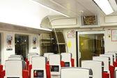 Express train to Sheremetievo airport, Moscow — Stock Photo