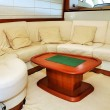 Interior yacht — Stock Photo