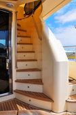 žebřík jachta — Stock fotografie