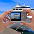 Stock Photo: Camerand cruise liner