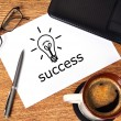 Success concept - Stock Photo