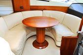 Interior yacht — Stock Photo