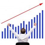 Growth chart — Stock Photo #13546279
