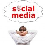Cloud social media — Stock Photo #13821041