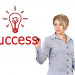 Writing success symbol — Stock Photo #14570325