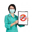 Doctor with clipboard — Stock Photo #16633277