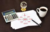 Uwaga strategii biznesowej — Zdjęcie stockowe