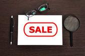 Sale symbol — Stockfoto