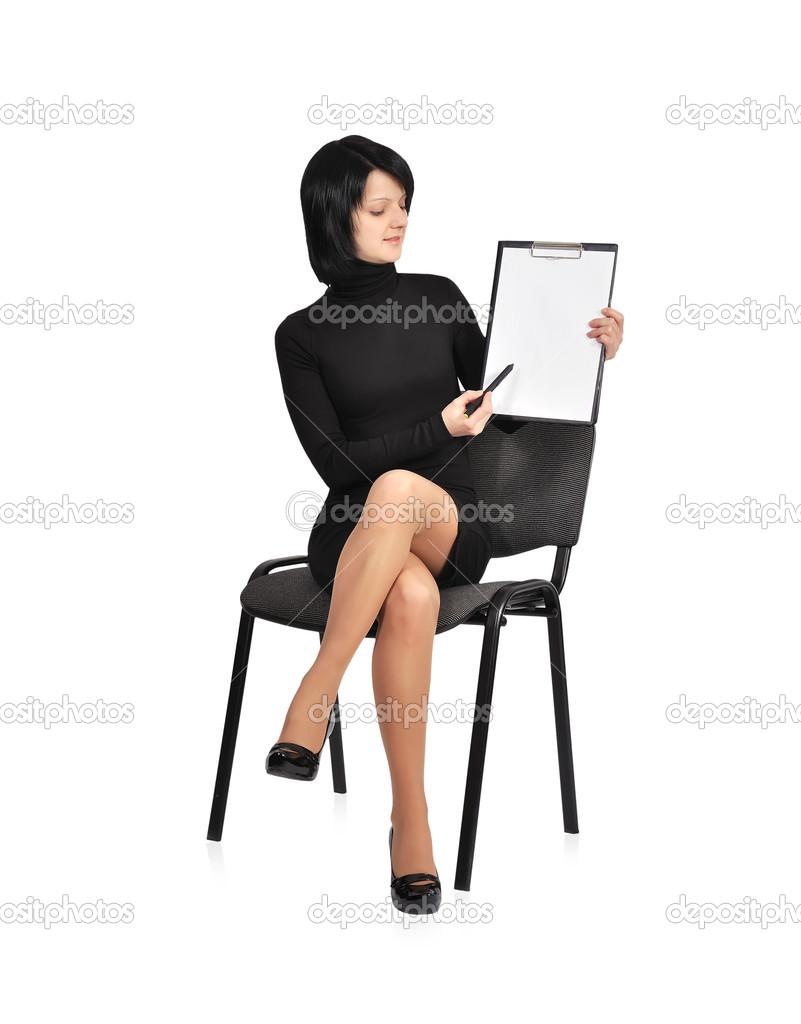Фотографии сидящих женщин 17 фотография