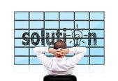 Solution — Stock Photo